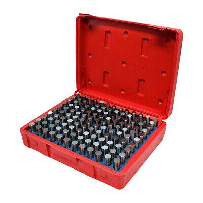 Set Of 125 Pc M3 Steel Pin Gage Plus 0.501 - 0.625 Gauge Set Metal Steel Plug