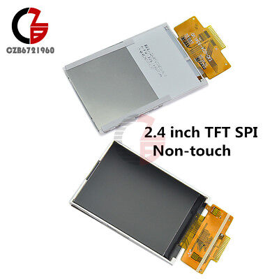 2.4 240x320 Spi Serial Tft Color Lcd Display Ili9341 Driver Non-touch Module
