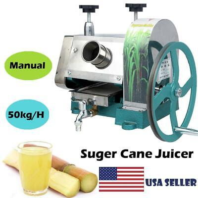 Commercial 50kgh Sugar Cane Ginger Press Juicer Juice Machine Extractor Mill