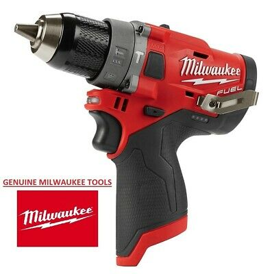 Milwaukee M12 Fuel Brushless Cordless 12 In. Hammer Drill 2504-20 Tool Only