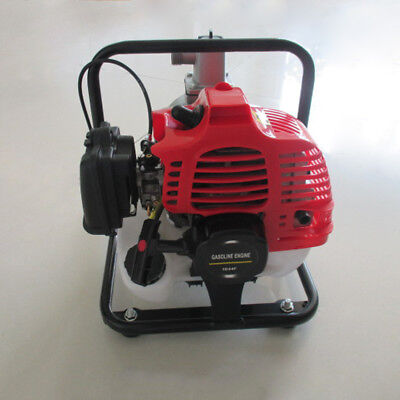 43cc 2 Hp Air-cooled 2-stroke Gas Powered Water Transfer Pump Irrigation Pump Us
