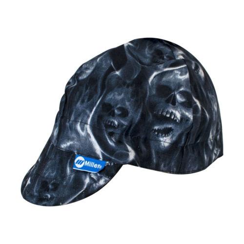 Genuine Miller Electric Arc Armor Ghost Skulls Welding Cap Skull Head Threads