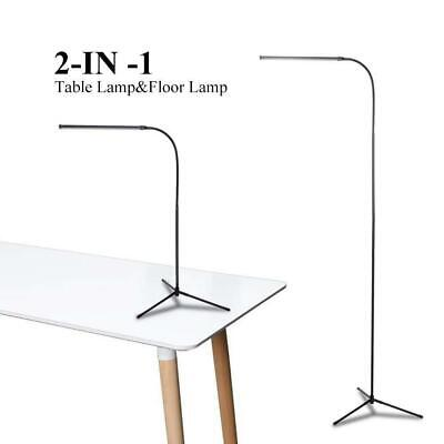Modern Floor Lamp Adjustable LED Standing Home Office Dimmable Desk Table Read