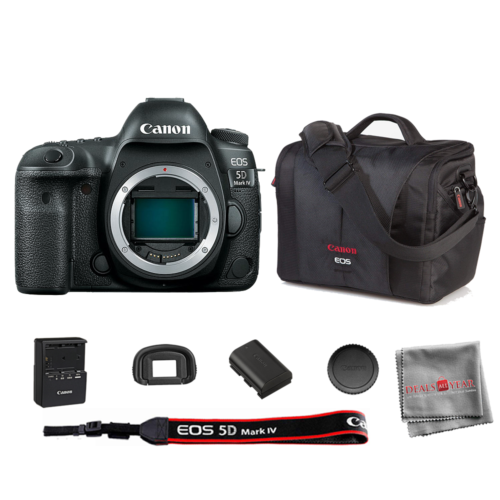Canon EOS 5D Mark IV 30.4 Megapixel Digital SLR Camera Body