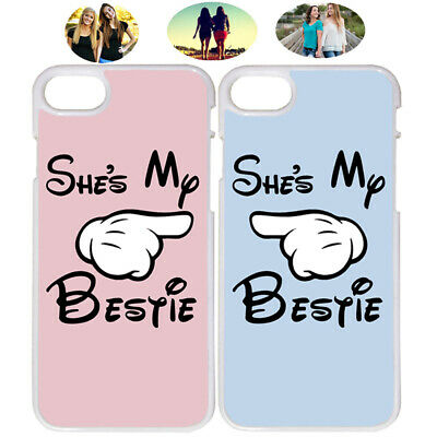 She's My Bestie Sister Best Friend Phone Case Cover For iPhone X XR XS 7 8 S8