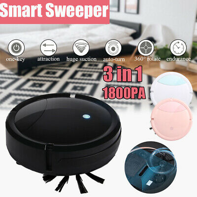 3 Sweeper (3 in1 Auto Rechargeable Smart Robot Vacuum Cleaner Floor Sweeper Edge Clean Mop )