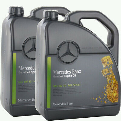 10 Liter Original Mercedes Benz MB 229.51 5W-30 Motoröl 5W30 Genuine Engine Oil