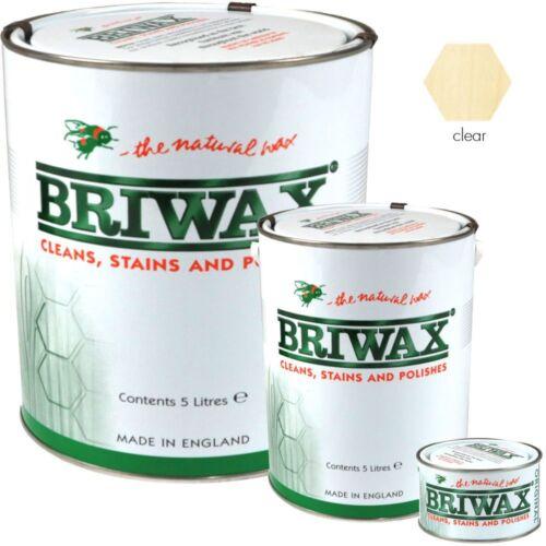 Briwax Original Clear Wood Wax Polish Restorer For Floors