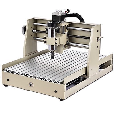 Low Profile 4 Axis 3040 Cnc Router Engraver Milling Machine Desktop Spindle 400w