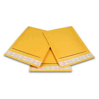 100 T 5x7 Ecoswift Brand Kraft Bubble Mailers Padded Shipping Envelopes 5 X 7