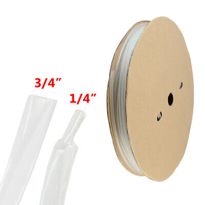 10ft 34 Heat Shrink Tubing Adhesive Glue Lined Tubes Marine Grade Wire Cable