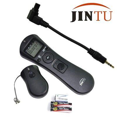 Jintu MC-36R C3 Wireless Timer Remote FOR Canon 1D 1DS 7D 6D 5D Mark II 40D 50D