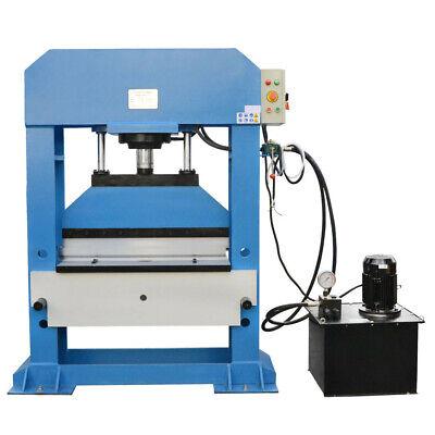 Electric 100 Ton Hydraulic Shop Press Brake Bender Bending 3 Phase 220 Volt