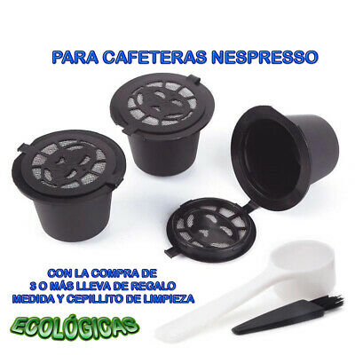 CAPSULAS ECOLOGICAS RECARGABLES CAFÉ NESPRESSO MEZCLA NATURAL INTENSO COLOMBIA