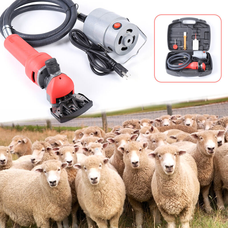 750W Electric Shearing Clipper Shear Sheep Goats Alpaca Shears Shearing Clipper