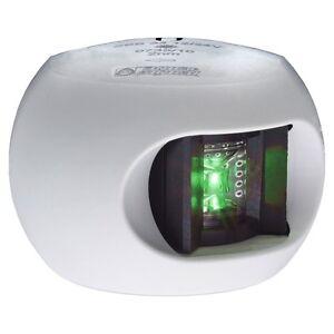 aqua signal s34 starboard sidemount led navigation light 12v 24v white. Black Bedroom Furniture Sets. Home Design Ideas