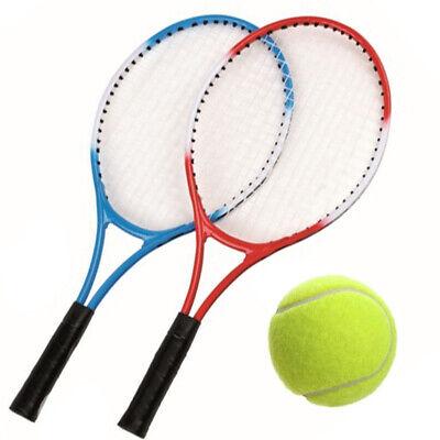 Set Tennis coppia racchetta pallina 2 players bambini adulti racchette colorate