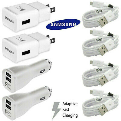 For Samsung Galaxy S7 S6 Edge Note 5 Note 4 Original Adaptive Rapid Fast Charger