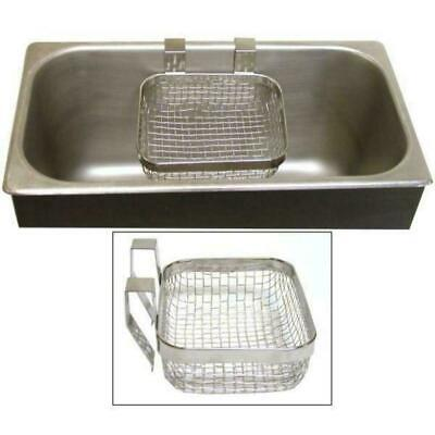 Cln65000 Stainless Steel Parts Cleaning Basket For Ultrasonic Cleaners