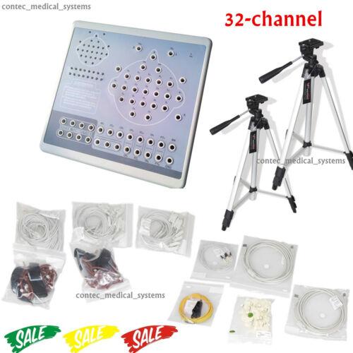 KT88-3200 Digital 32 Channel EEG Machine&Mapping System,2 tripods,Brain electric