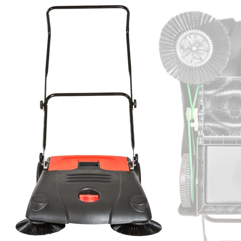 Kehrmaschine 70cm Handkehrmaschine Kehrbesen 700mm Kehrer Besen Schmutz manuell
