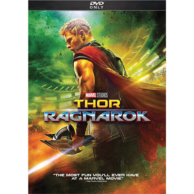 Thor  Ragnarok  Dvd  2018  New  Action Comedy S Fiction Us Free Shipping