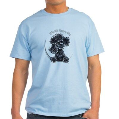 CafePress Black Poodle IAAM Full Light T Shirt 100% Cotton T