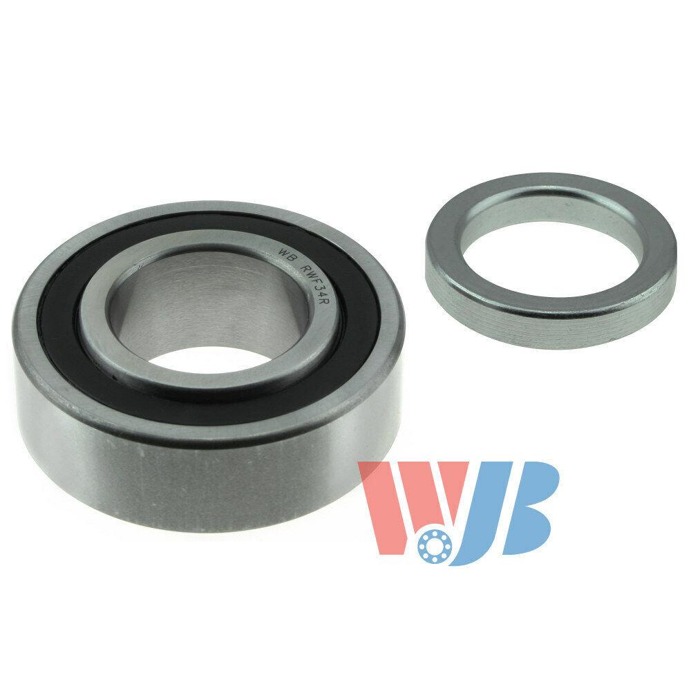 WJB WBRW102R WBRW102R-Rear Wheel Bearing with Lock Collar-Cross Reference National Timken RW102R SKF GRW102-R