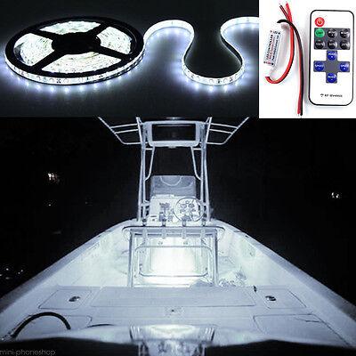 Wireless White Led Strip Kit For Boat Marine Deck Interior Lighting 16 Ft