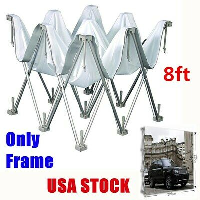 8ft Tension Fabric Display Pop Up Backdrop Stand Frame Exhibition Booth Us Stock