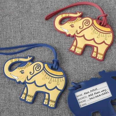 72 Elephant Luggage Tags Wedding Bridal Baby Shower Birthday Party Gift Favors  - Bridal Shower Gift Tags