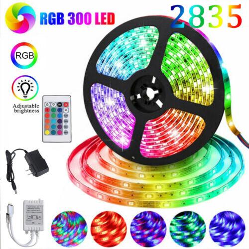 Led Strip Lights 16ft Color Changing RGB 2835 LED Tape Room