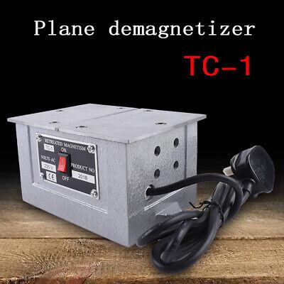 Tc-1 Plane Demagnetizer Machine Platform Metal Demagnetizer Tool Blue 60hz 110v