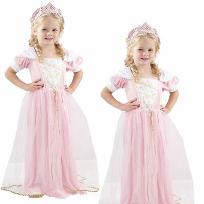 Kinder Kleinkind Sleeping Prinzessin Mädchen Buchwoche Verkleidung Party - Mädchen Kleine Rosa Prinzessin Kostüm