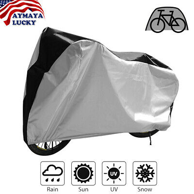 Mountain Bike Bicycle Rain Cover Waterproof Heavy Duty Cover w//Storage Bag G7R9H