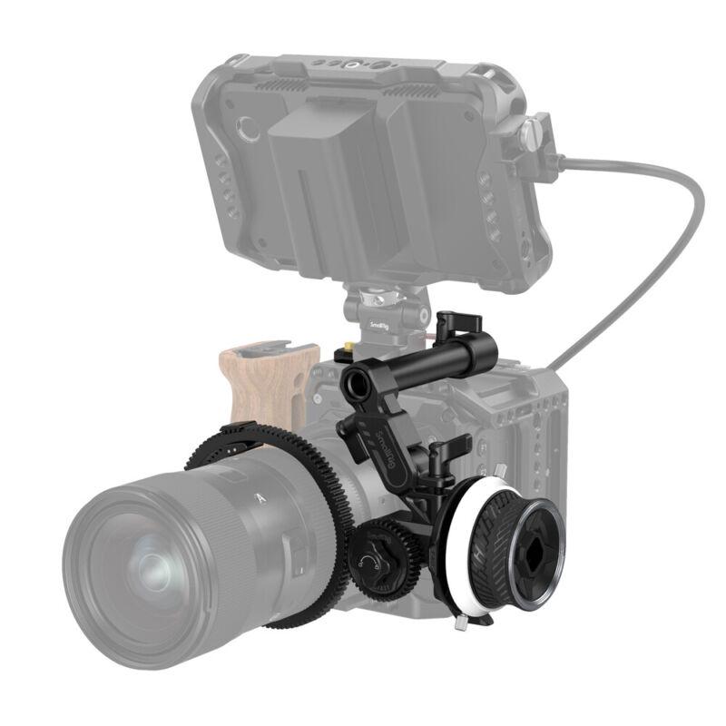 SmallRig Mini Follow Focus Lens Zoom Control Lightweight for DSLR Camera -3010