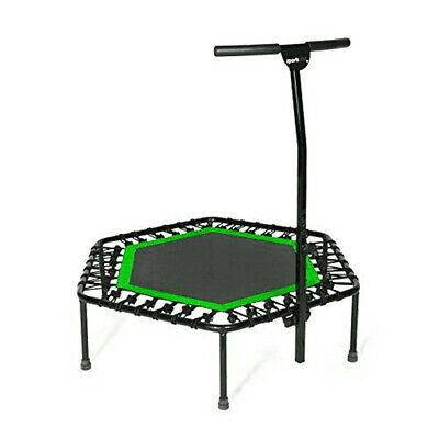 SportPlus Quiet Mini Rebounder Fitness Trampoline w/Adjustab