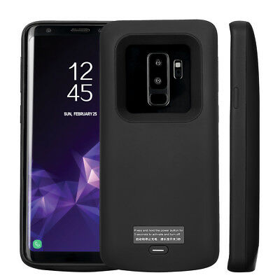 For Samsung Galaxy S9 Additional External Charger Case Battery Backup Magnetic Cover