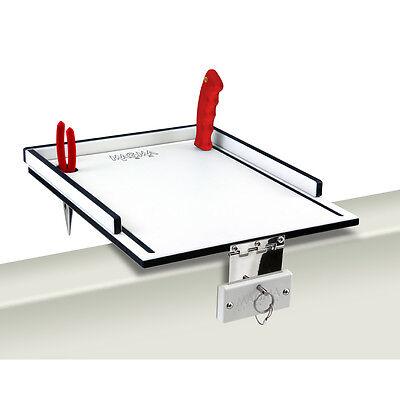 Magma Econo Mate Bait Filet Table - 12 - White/Black