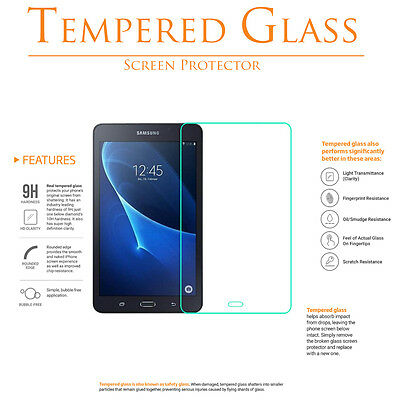 "9H Tempered Glass Screen Protector For Samsung Galaxy Tab A 7"" 7.0 SM-T280 T285"