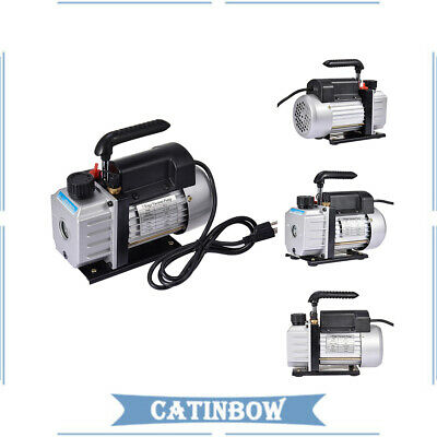 4 Cfm Vacuum Pump Rotary Vane 14hp Hvac Ac Refrigerant Air Conditioning