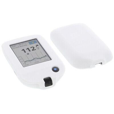 Tasche f. Abbott Freestyle Libre 2 Schutz Hülle Silikon Silicon Weiß