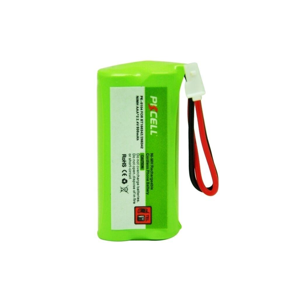 Cordless Phone Battery 800mAh For AT&T BT166342 BT266342 VTe