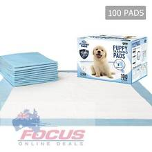 100 Puppy Pet Dog Toilet Training Pads Blue or Pink North Melbourne Melbourne City Preview