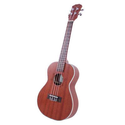 "New UK207 26"" Tenor Zebra Wood 18 Fret Ukulele Uke 4 Strings Guitar segunda mano  Embacar hacia Argentina"