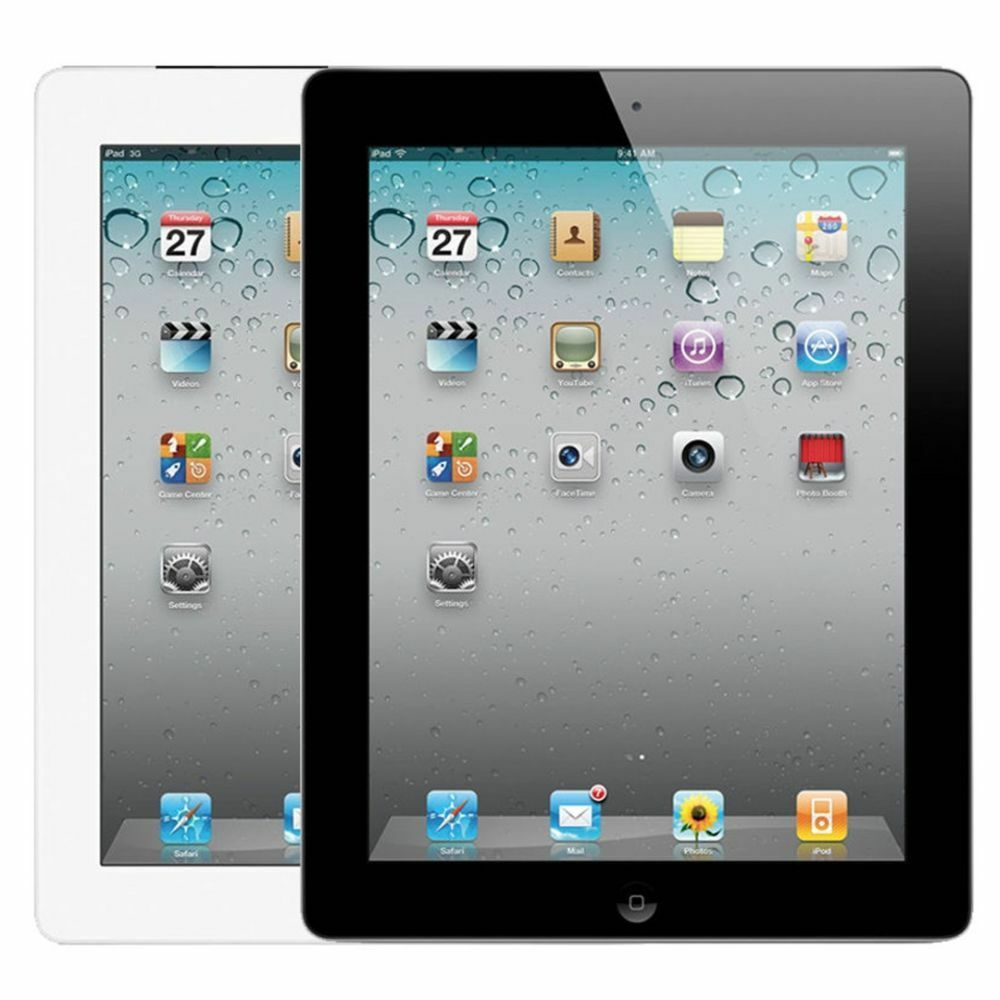 Ipad 2 - Apple iPad 2  9.7in - WiFi Black And White 16GB 32GB 64GB Great Condition