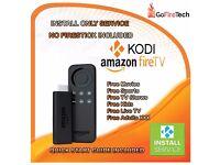 Amazon Fire Stick Kodi 16.1INSTALLATION SERVICE ONLY FULLY LOADED Sports✔️Movies✔️TV✔️Kids✔️Adult