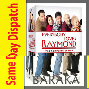 EVERYBODY LOVES RAYMOND Complete Series Season 1 2 3 4 5 6 7 8 & 9 DVD Box Set