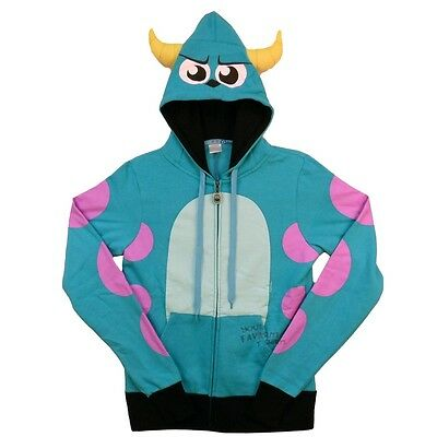 Monsters Inc University I Am Sulley Costume Pixar Zip Up Hoodie