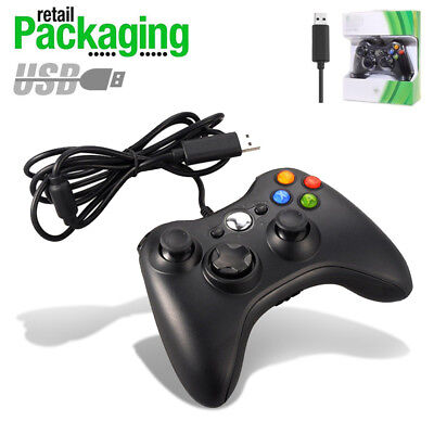 New USB Game Pad Controller For Microsoft Xbox 360 Console PC Windows XP 7 8 10 ()